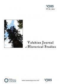 Valahian Journal of Historical Studies 16/2011