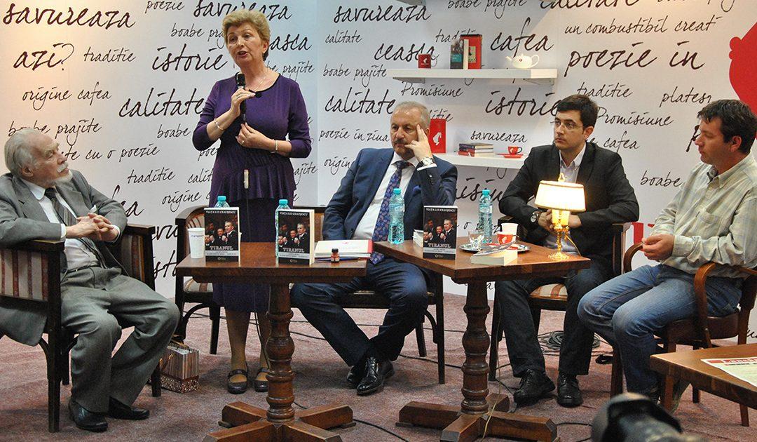 Lansare de carte: Viața lui Ceaușescu – Tiranul