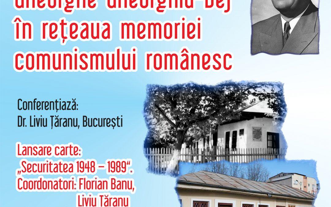 """Bârlad: Lansarea volumului """"Securitatea (1948-1989). Monografie, vol. I"""