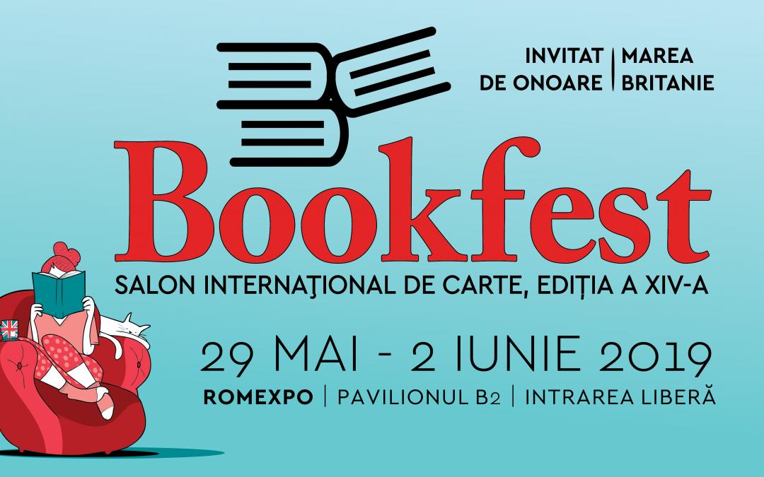 Salonul Internațional de Carte Bookfest București (29 mai – 2 iunie)