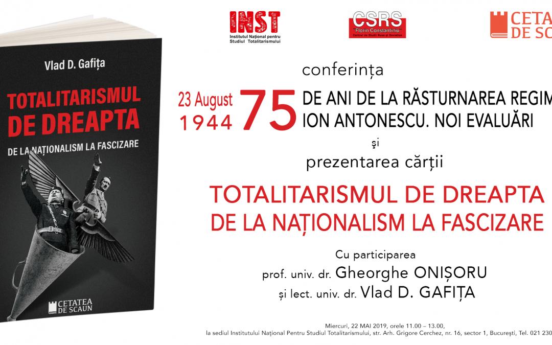 Totalitarismul de dreapta de la naționalism la fascizare
